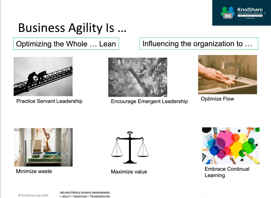 Business Agility Is